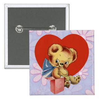 La tarjeta del día de San Valentín linda refiere e Pins