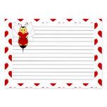 La tarjeta del día de San Valentín manosea la tarj Tarjetas De Visita
