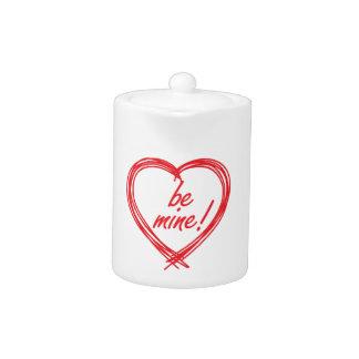 ¡La tarjeta del día de San Valentín sea la mía