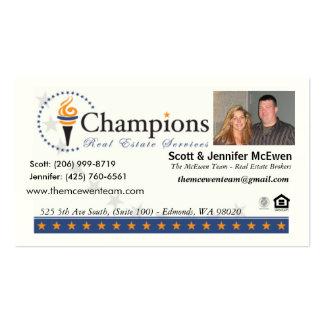 La tarjeta del equipo de McEwen (propiedades Tarjetas De Visita