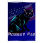 La tarjeta del gato de Bombay