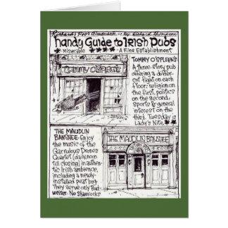 La tarjeta del Pub Tarjeta De Felicitación