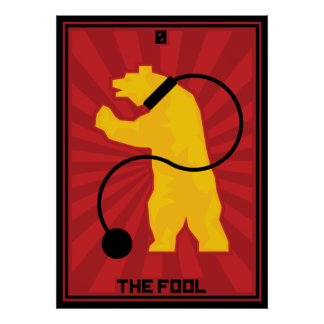 La tarjeta del tonto posters
