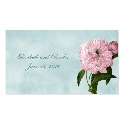La tarjeta del Web site de la colección del jardín Tarjetas De Visita