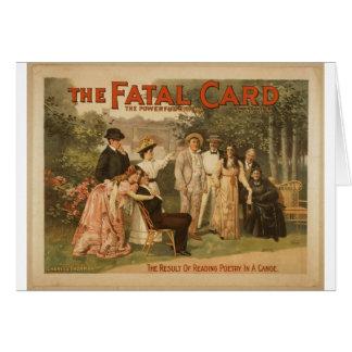 La tarjeta fatal