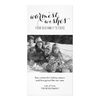 La tarjeta más caliente de la foto del día de fies tarjetas fotograficas personalizadas