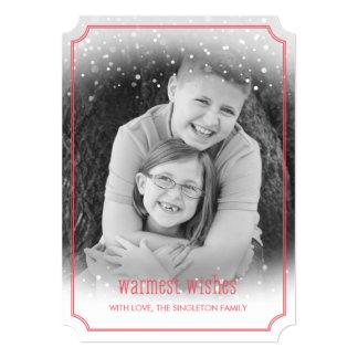 """La tarjeta más caliente de la foto del día de invitación 5"""" x 7"""""""