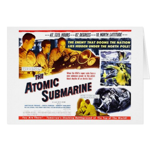 """"" La tarjeta submarina atómica"