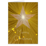 La tarjeta vertical de las Felices Navidad de la e