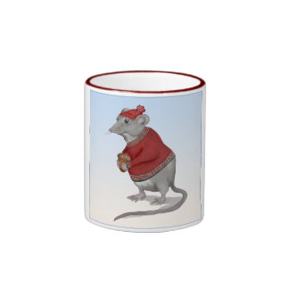 La taza agradecida del ratón