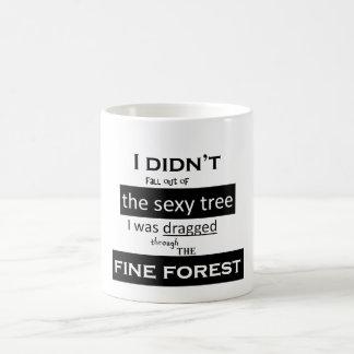 La taza atractiva del árbol