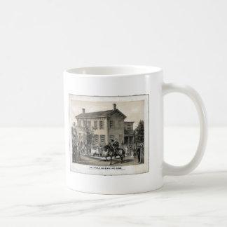 La taza casera de Abraham Lincoln