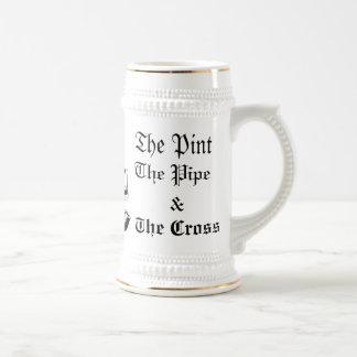La taza católica de Stein del dormitorio (blanco/o