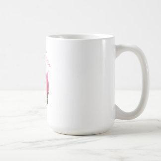 La taza color de rosa rosada de la madre
