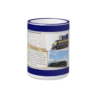 La taza de Alaska del ferrocarril