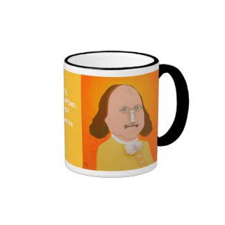 La taza de Benjamin Franklin 11oz