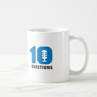 La taza de café de 10 preguntas