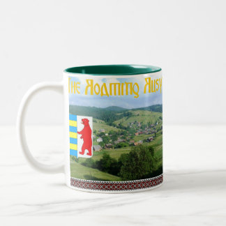 La taza de café de itinerancia de Rusyn