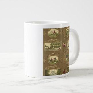 La taza de café de la caza tazas jumbo