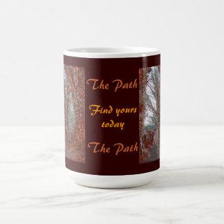 La taza de café de la trayectoria
