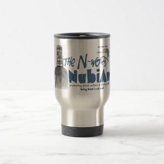 """La taza de café de Nubian de la palabra de N"""