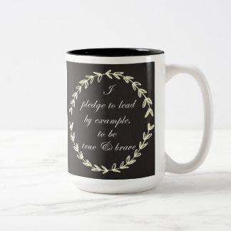La taza de café del compromiso
