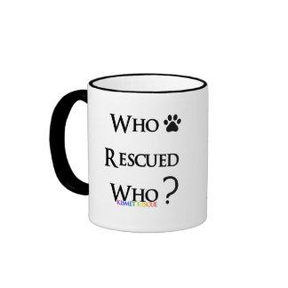 """¿La taza de café del Kismet """"quién rescató quién?"""