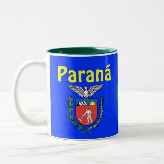 La taza de café del *State de Paraná Caneca hace
