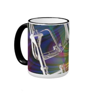 La taza de café del Trombone de diapositiva, taza