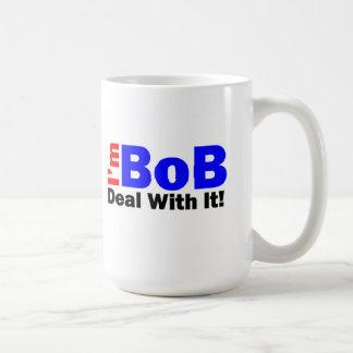 "¡La taza de café dice que ""soy BoB - trate de ella"