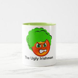 La taza de café fea del irlandés 15oz