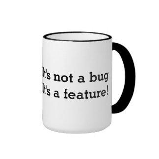 ¡La taza de café Geeky el   no es un insecto que