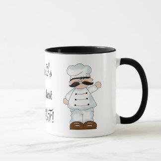 La taza de café más grande del cocinero del mundo