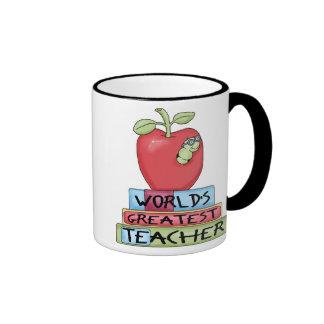 La taza de café más grande del profesor del mundo