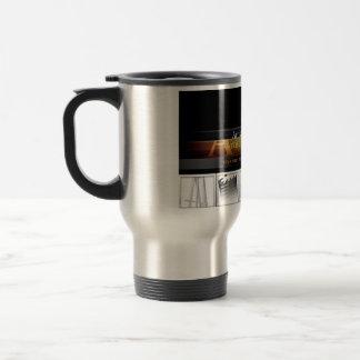 La taza de café que viaja - artista Untamed