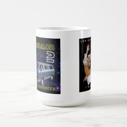 """La taza de café w """"soy bizcocho borracho Lon"""" y """"b"""