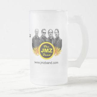 La taza de cerveza de la banda de JMZ