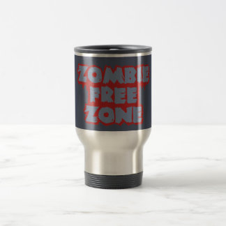 La taza de encargo de la zona franca del zombi,