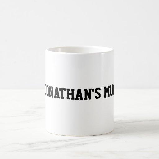 La taza de JONATÁN
