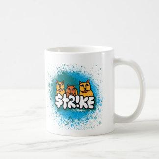 "La taza de la amabilidad de la huelga ""máteles"