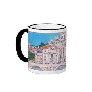La taza de la Ciudad del Vaticano