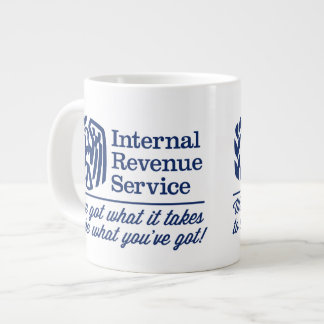 La taza de la especialidad del IRS Taza Extra Grande