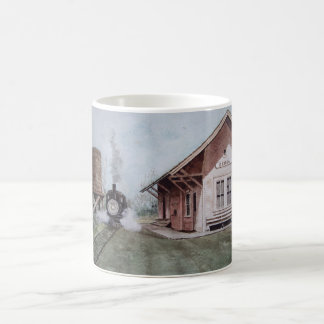La taza de la estación de tren