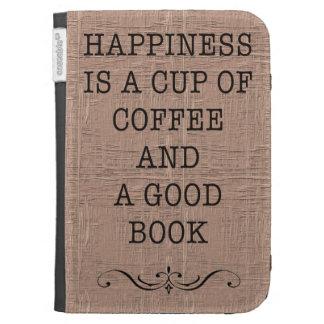 La taza de la felicidad de café y un buen libro en