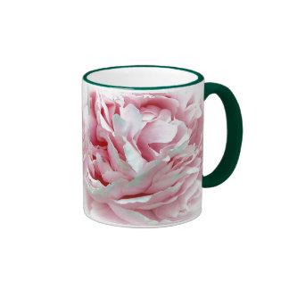 La taza de la flor del boda