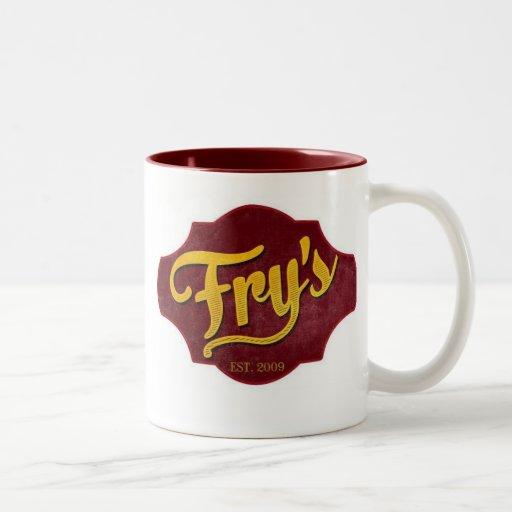 La taza de la fritada (marrón)