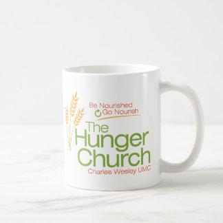 La taza de la iglesia del hambre