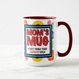 La taza de la mamá de su niño preferido