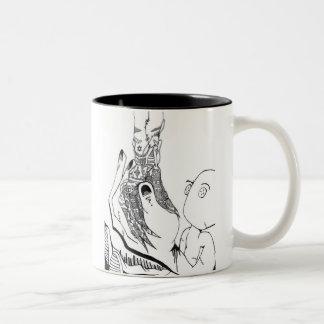 La taza de la mano de dios