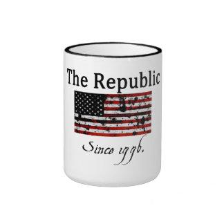 La taza de la república desde 1776